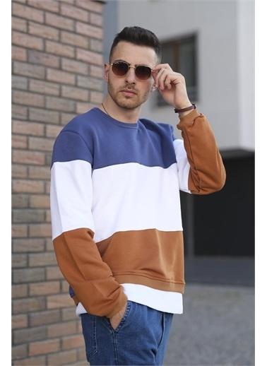 Oksit Sweatshirt Mavi